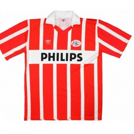 PSV Shirt Thuis Gedragen door Koeman Longsleeved 1991-1992
