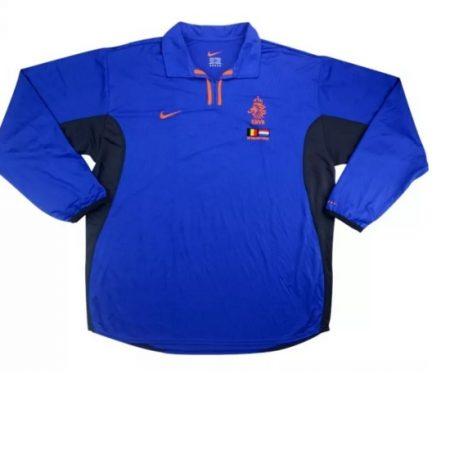 Nederland Shirt Uit Gedragen door Kluivert Longsleeved