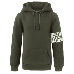 Malelions Captain Hoodie Army/Off-White KIDS