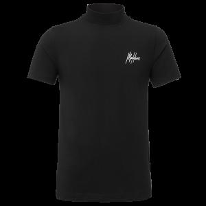 Malelions Turtle Neck Signature T-Shirt Black