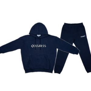Ceasarss Oversized Hooded Trainingspak Dark Blue