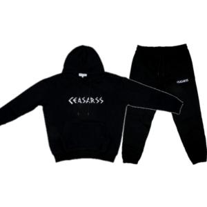 Ceasarss Oversized Hooded Trainingspak Black