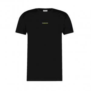 PureWhite Logo Tee Black/Yellow