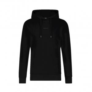 PureWhite Essential Logo Hoodie Black/White