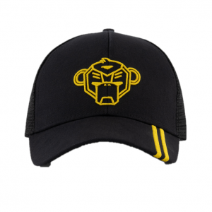 Black Bananas Unity Trucker Cap Kids Black/Yellow