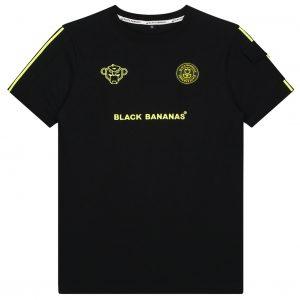 Black Bananas Unity Tee Kids Black/Yellow