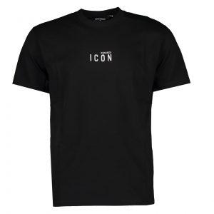 Dsquared2 Reflective Mini Icon T-Shirt Black
