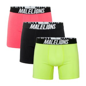 Malelions Boxershorts 3-Pack Tricolore