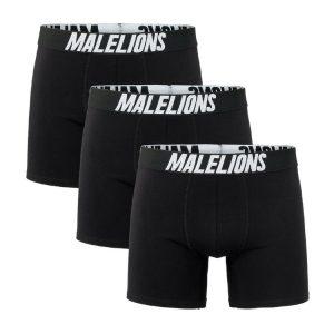 Malelions Boxershorts 3-Pack Black