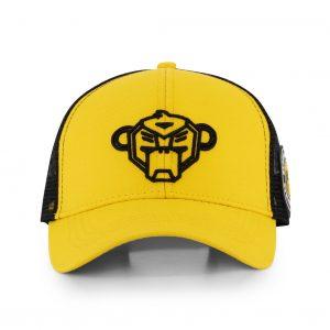 Black Bananas Wavy Trucker Cap Junior Yellow