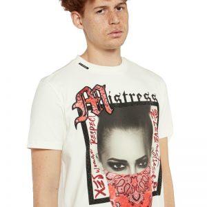 My Brand Badass Bandana T-Shirt Off-White