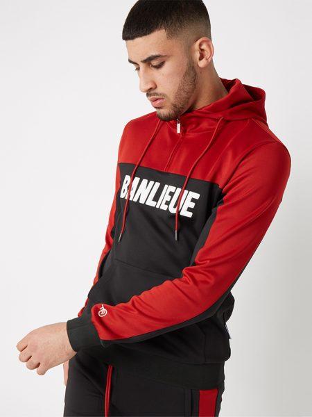 Banlieue 3d-tracksuit-red-black de goede