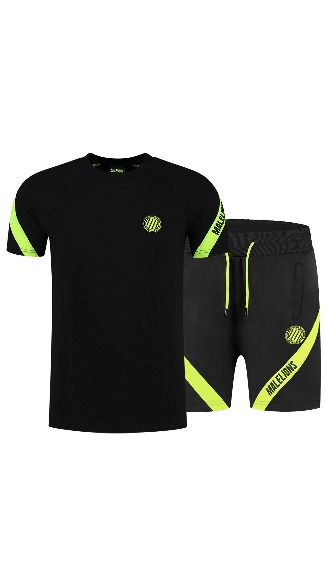 Malelions Sport Pre-Match Zomerset Black Neon Yellow