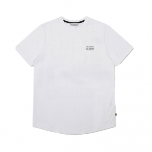 Off The Pitch Saturn Tee White