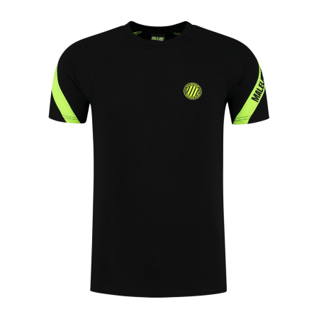 Malelions Shirt Black Neon Yellow