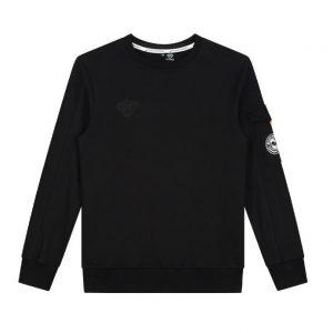 Black Bananas Ribbon Sweater Black