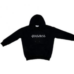 Ceasarss Oversized Hoodie Black