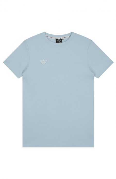 Clear-tee-light-blue-white