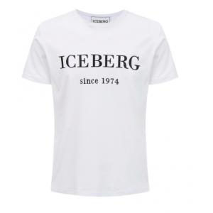 Iceberg Logo T-shirt White