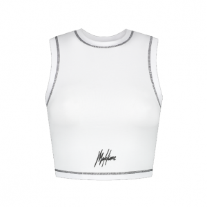 Malelions Crop Top Dames White
