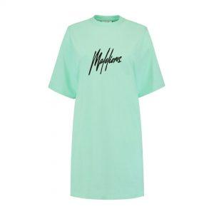 Malelions Dames Lou T-Shirt Dress Mint/Black