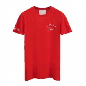 In Gold We Trust The Pusha T-Shirt Red