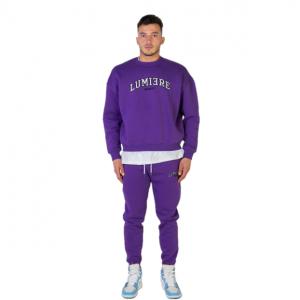 Lumi3re Sportif Trainingspak Crewneck Purple