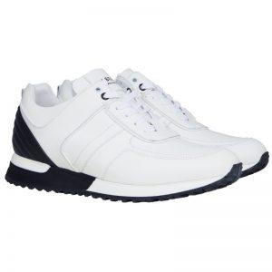 My Brand Full Leather Runner White