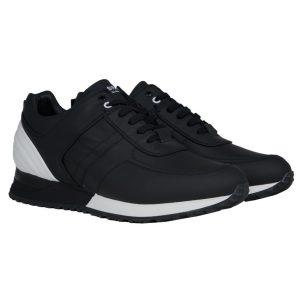 My Brand Full Leather Runner Black/White